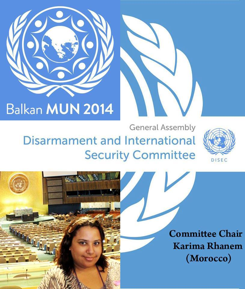 Karima-Rhanem-in-the-Model-United-Nations-in-the-Balkan